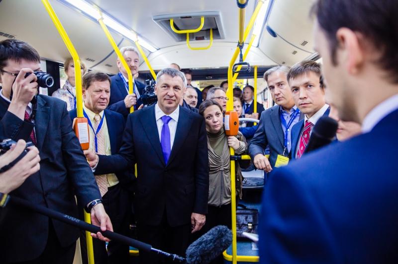 Презентация новой платежной системы для общественного транспорта